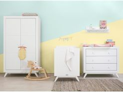 BOPITA 'Fiore' 4tlg. Babyzimmer Set, weiß