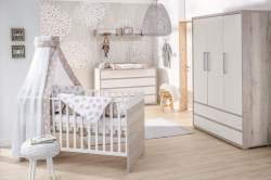 Schardt 'Mick' 3-tlg. Babyzimmer-Set Schrank 3-türig