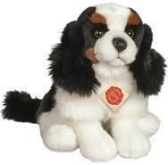 Hermann Teddy Collection 919186 - Plüsch-Charles Spaniel sitzend, 25 cm