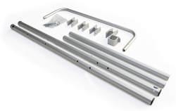 Burley Unisex– Erwachsene Rahmenrohre-3091996727 Rahmenrohre, Grau, One Size