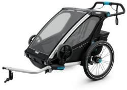 Thule 'Chariot Sport 2' Fahrradanhänger 2020 Schwarz, 2-Sitzer