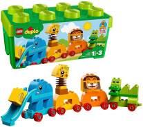 LEGO DUPLO 10863 'Meine erste Steinebox mit Ziehtieren', 34 Teile, ab 18 Monaten, kreatives Spielen