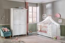 Cilek ROMANTIC BABY 5 Babyzimmer Kinderzimmer Set Komplettset Spielzimmer Weiß