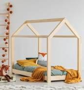 Best For Kids Hausbett 90x200 natur