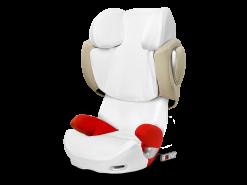 Cybex - Sommerbezug für Solution Q/Q-Fix White