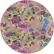 Misento 'City' Kinderteppich 200 cm rund
