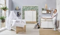 Schardt 'Slide Oak' 3-tlg. Babyzimmer-Set