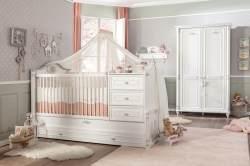Cilek ROMANTIC BABY 2 Babyzimmer Kinderzimmer Set Komplettset Spielzimmer Weiß
