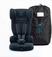 Urban Kanga Autokindersitz 2020 Schwarz, 9 bis 18 kg (Gruppe 1), tragbar und faltbar