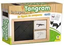 TEOREMA Satz 40523–Tangram mit Figuren zusammensetzen