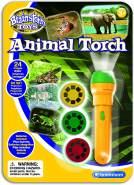 Invento 'Diashow Wilde Tiere' Taschenlampenprojektor