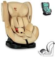 Lorelli Kindersitz Tommy + SPS Gruppe 0/1 (0-18 kg), verstellbare Rückenlehne, Farbe:beige