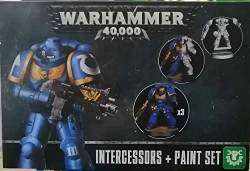 Warhammer 40.000 Intercessors & Paint Set, Tabletop