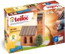 Eitech TEI 4050 Teifoc Steinbaukästen 4050-Kirche, Multi Color, Kirche