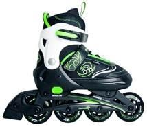 Authentic Sports - Kinder Inline-Skates Muuwmi - grün-weiß-schwarz - Größe 33-36