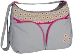 Lässig Basic Shoulder Bag Wickeltasche/Babytasche inkl. Wickelzubehör, grau