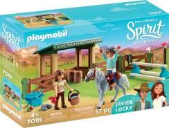 Playmobil Spirit Riding Free 70119 'Pferdekoppel', 57 Teile, ab 4 Jahren