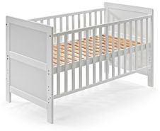 KOKO Kombi-Kinderbett 'JONAS' 70x140 cm weiß