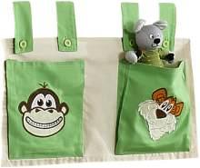 Relita Stofftaschen für Hoch- und Etagenbetten Dschungel
