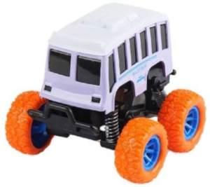 Wild Autocross Muster LKW-Bus Jungen 9 cm Stahl violett/orange