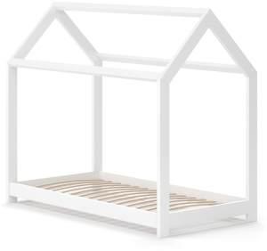 VitaliSpa 'Wiki' Hausbett 70x140 cm weiß, inkl. Lattenrost