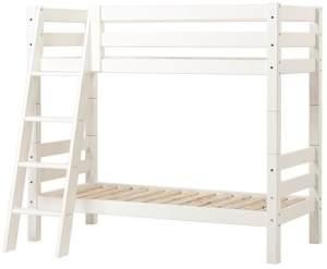Hoppekids 'Premium' Etagenbett schräge Leiter, 70 x 160 cm, inkl. Rollroste