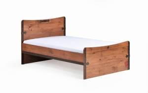 Cilek PIRATE XL Bett Kinderbett Kinderzimmer Braun 120x200 cm mit