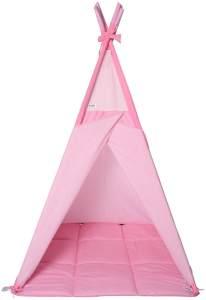 Belily-World Little Hideout Spieltipi – Spielzelt (Schmetterling Zimmer) - 105cm x 105cm mit Fenster