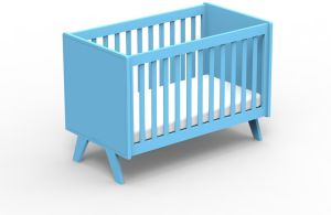 Mathy by Bols Babybett Madavin Azur Blue