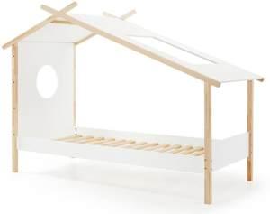 Vipack 'Cocoon' Zelt-Bett weiß/natur 90x200cm