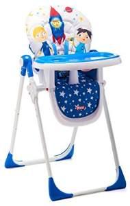 Piku 'Astronautas' Hochstuhl blau
