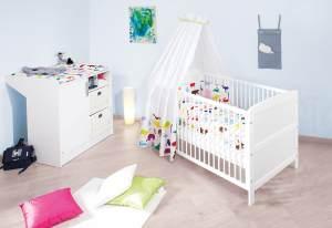 Pinolino 'Viktoria' 2-tlg. Babyzimmer-Set weiß
