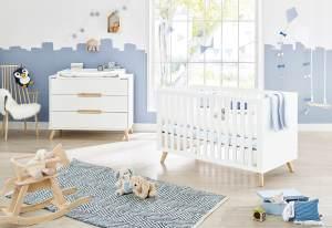 Pinolino 'Move' 2-tlg. Kinderzimmer-Set breit, weiß