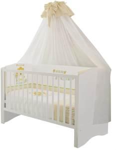 Polini Kids Kombi-Kinderbett Simple 140 x 70 cm, weiß