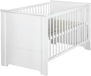 Roba 'Maxi' Kombi-Kinderbett weiß, 70 x 140 cm, 3-fach höhenverstellbar