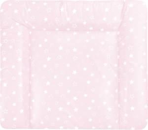 Julius Zöllner Wickelauflage Softy 75 x 85 Sternenhimmel rosa