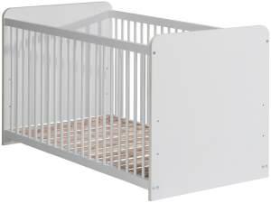 Gitterbett Wisal 12 weiß matt 70x140 cm