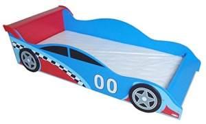 Kiddi Style Autobett blau/rot