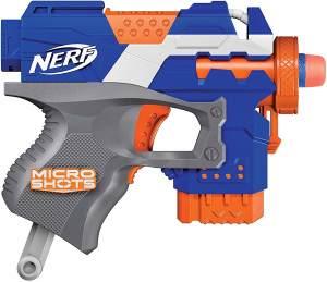 Hasbro Nerf E1624ES0 Microshots Stryfe, Klassiker-Blaster im Mikroformat