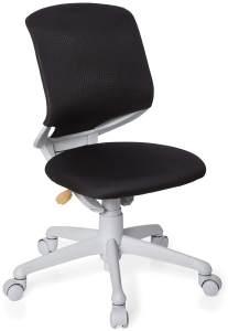 hjh OFFICE 712000 Kinder-Schreibtischstuhl Kid Move Grey Netzstoff Schwarz/Grau Drehstuhl ergonomisch, Rückenlehne verstellbar