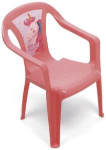 Stuhl Unicorn 51 x 36,5 cm Polypropylen rosa