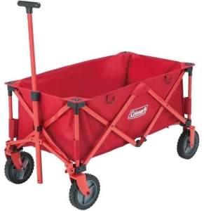 Coleman Bollerwagen Red, Größe One Size - Zubehör, Farbe Rot