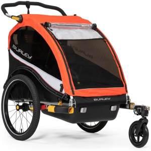 Burley 'Cub X' Fahrradanhänger 2019, rot, 2-Sitzer