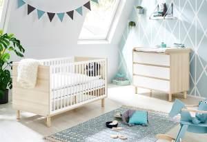 Pinolino 'Flow' 2-tlg. Babyzimmer-Set breit