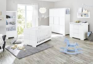 Pinolino 'Polar' 3-tlg. Babyzimmer-Set weiß, 3-türig
