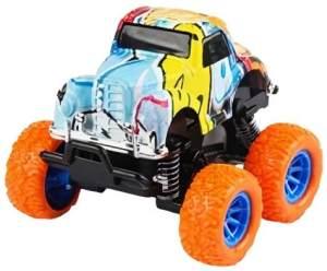 Wild Autocross Muster LKW- Jungen 9 cm Stahl orange