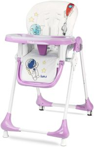 Hochstuhl Kinder Caretero Luna Pro Kinderhochstuhl Lavendel Kinderstuhl
