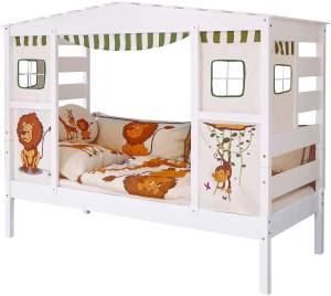Ticaa 'Safari' Hausbett weiß