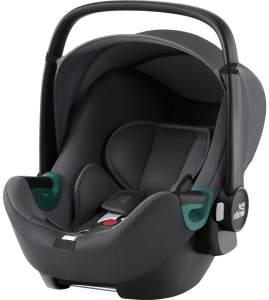 Britax Römer 'BABY-SAFE3 i-Size' Babyschale 2021 Midnight Grey, 0 bis 13 kg (Gruppe 0+)