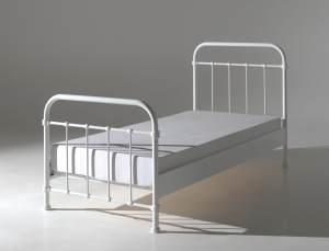 Vipack 'New York' Einzelbett weiß, 90x200 cm